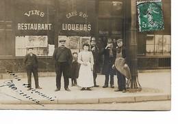 PARIS - Carte Photo - Restaurant - Maison Girou - Cafés, Hotels, Restaurants