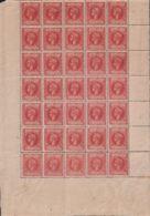1898-274 CUBA SPAIN ESPAÑA 1898 10c AUTONOMIA ALFONSO XIII BLOCK 42 ORIGINAL GUM. - Ungebraucht