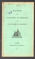 (guerre 14-18)  Procédés Pour L'instruction Du Tirailleur  1916 (PPP21289) - 1914-18