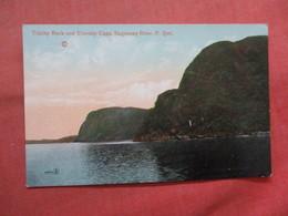 Trinity Rock & Eternity Cape  Canada > Quebec > Saguenay  River       Ref 3792 - Saguenay