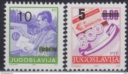 Yugoslavia 1991 Definitive Stamps, MNH (**) Michel 2518-2519 - Ungebraucht