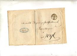 Lettre Cachet Langnau 1986 Plié - Deutschland