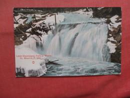 Little Shawinigan Falls In Winter  St Maurice Canada > Quebec   Ref 3792 - Quebec
