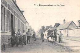 CPA 80 - BOUQUEMAISON, La Poste - Otros Municipios