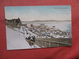 Winter View  Canada > Quebec   Ref 3792 - Quebec