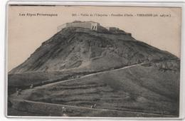 CPA 04 : 316 - Vallée De L'Ubayette - Frontière D'Italie - VIRRAISSE - Chasseurs Alpins - Ed. Richaud à Barcelonnette - - France