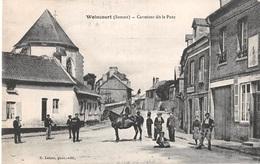 CPA 80 - WOINCOURT, Carrefour Dit Le Pont - Francia