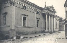 42. GRAY . LE PALAIS DE JUSTICE . CARTE NON ECRITE - Gray