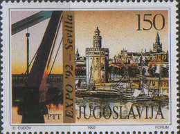 Yugoslavia 1992 EXPO '92 Sevilla, MNH (**) Michel 2533 - Ungebraucht
