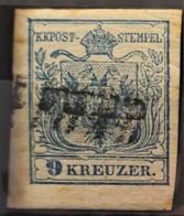 AUSTRIA 1850/54 - Canceled - ANK 5 - 9kr - 1850-1918 Imperium