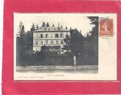 CHATEAU DE FRELAND  (  AMBIEVILLERS  )  CARTE AFFR SUR RECTO LE 4 NOV 1911 - Andere Gemeenten