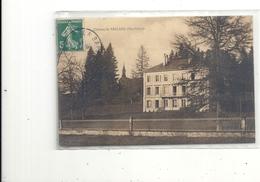 CHATEAU DE FRELAND  (  AMBIEVILLERS  )  CARTE AFFR RECTO/ VERSO LE 28 MARS 1913 . 2 SCANES - Andere Gemeenten