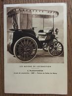 Carte Postale,Les Moyens De Locomotion-l'Automobile- Année De Construction 1889,Voiture Du Sultan Du Maroc,éd Bourgogne - Turismo
