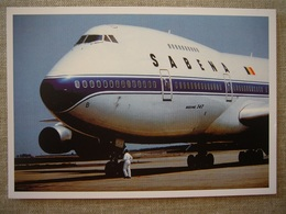 Avion / Airplane /  SABENA / Boeing B 747-100 / Registered As OO-SGB - 1946-....: Ere Moderne