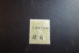 CANTON N°46* MH - Canton (1901-1922)
