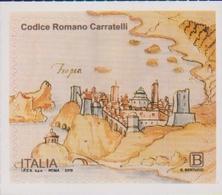 ITALY, 2019, MNH, MANUSCRIPTS, ROMAN CARRATELLI CODE, FORTS, 1v - Art