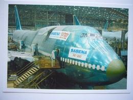 Avion / Airplane /  SABENA / Boeing B 747-300 - 1946-....: Ere Moderne