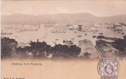 CPA  Chine (Hong Kong) - Greetings From HongKong - Chine (Hong Kong)