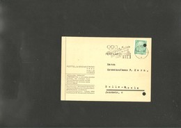 Olympic 1936 Postmark Of Germany Halle - Sommer 1936: Berlin
