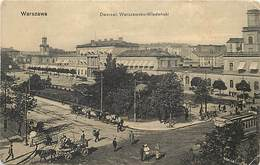 Pays Div- Pologne - Poland -ref V607- Warszawa - Varsovie - Dworzec Warszawsko Wiedenski  - - Polonia