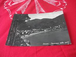 LEVANTO PANORAMA DALLA PUNTA SPIAGGIA FERROVIA STAZIONE  LIGURIA - La Spezia