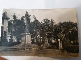 CPA  43 SAINT DIDIER EN VELAY CROIX DE MISSION ET MONUMENT AUX MORTS - Saint Didier En Velay
