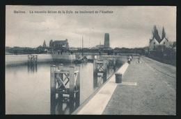 MECHELEN   LA NOUVELLE ECLUSE DE LA DYLE AU BOULEVARD DE L'ABATTOIR - Mechelen