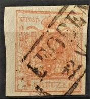 AUSTRIA 1850/54 - LEOBEN Cancel - ANK 3 - 3kr - 1850-1918 Imperium