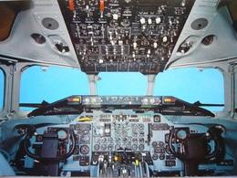 Avion / Airplane / SWISSAIR / Douglas DC-9 / Cockpit - 1946-....: Ere Moderne