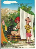 HUMOUR - L'AVANTAGE RESTE AUX AUDACIEUX - CARTE NEUF  - Voir Detail Annonce - Humour