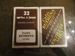 Jeu De 32 Cartes Neuf Pub Cafes Ruthena - 32 Cartes