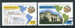 Bahamas 1998 50th Anniversary Of Organization Of American States Set Used (SG 1137-1138) - Bahamas (1973-...)