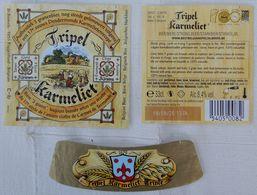 Etiketten K5 Tripel Karmeliet Brewery Bosteels - Beer