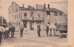 54 Un Coin De Badonviller, Bombardé Devant La Gare - Other Municipalities
