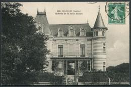 Marçon - Château De La Croix Boisée - Voir 2 Scans - Frankreich