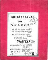 DEPT 04 - Fete Du Verdon LA PALUD Sur VERDON Le 21 Juillet 1979 - SUICIDORIUM DU VERDON - ARD1 - - France