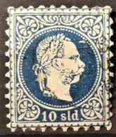 AUSTRIAN POST IN LEVANTE 1867 - Canceled - ANK 4 I - 10sld - Usados