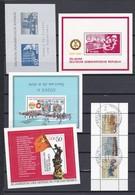 DDR Kleine Verzameling Blokken, Zeer Mooi Lot 4183 - Timbres