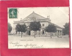 VESOUL . LA HALLE . DOS NON DIV AFFR SUR RECTO EN 1907 - Vesoul