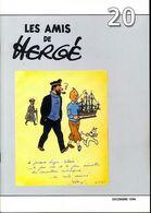 LES AMIS DE HERGÉ N°20 Decembre 1994 . Revue Semestrielle.Très Bon état - Tintin