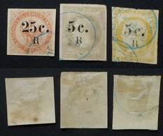 REUNION 1885 # 4-5-6 - Isola Di Rèunion (1852-1975)