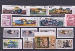 DDR Kleine Verzameling **, Zeer Mooi Lot K1034 - Timbres