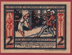 Allemagne 1 Notgeld De 2 Mark Stadt Münster Dans L 'état  N °5381 - Verzamelingen