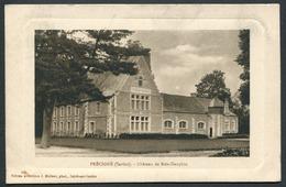 Précigné - Château De Bois-Dauphin - - Edit.-Phot. J. Malicot - Voir 2 Scans - Sonstige Gemeinden
