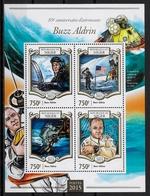 NIGER - ESPACE - BUZZ ALDRIN - N° 2726 A 2729 ET BF 389 - NEUF** - Spazio