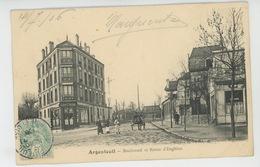 ARGENTEUIL - Boulevard Et Route D'Enghien - Argenteuil
