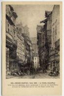 44*NANTES-Ancien-Vers 1830-La Vieille Grand Rue - Nantes