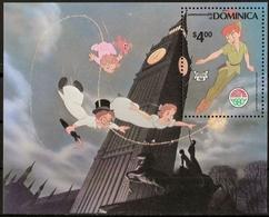 DOMINIQUE - DISNEY - PETER PAN - N° 658 A 666 ET BF 65 - NEUF** - Disney