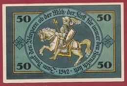 Allemagne 1 Notgeld De 50 Pfenning Stadt Torgau Dans L 'état  N °5392 - [ 3] 1918-1933 : Repubblica  Di Weimar