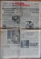 24 H Du Mans 1960.dérapage De La Lotus 62.Mystère à Limalonges.Cirque AMAR Au Mans.Satellites Jumeaux De L'espace. - Desde 1950